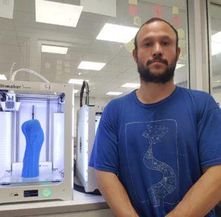 מדפסת תלת מימד בהנחה