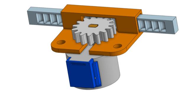ארבעת החלקים בזמן התכנון התלת מימדי