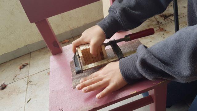 ליטוש ליישור על השולחן