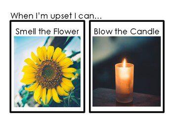 מדיטציה לילדים- כשאני עצבני אני יכול להריח את הפרח ולכבות את הנר